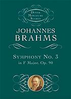 Symphony no. 3, op. 90 in F major