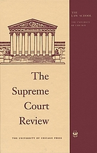 The Supreme Court review : 1985