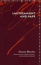 Lautréamont and Sade