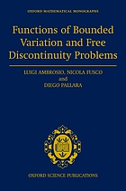Functions of bounded variation and free discontinuity problems