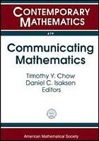 Communicating mathematics : a conference in honor of Joseph A. Gallian's 65th birthday