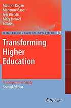Transforming higher education : a comparative study