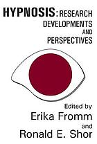 Hypnosis: research developments and perspectives