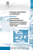 L'action normative à l'UNESCO