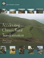 Accelerating China's rural transformation