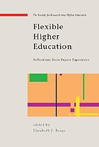 Flexible higher education international pioneers reflect