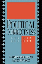 Political correctness : for and against