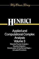 Applied and computational complex analysis