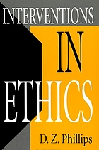 Interventions in ethics