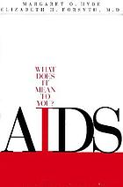 AIDS : what does it mean to you?