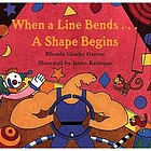 When a line bends--a shape begins