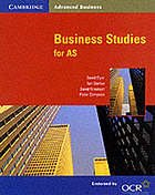 Business studies for AS