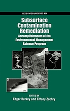 Subsurface contamination remediation : accomplishments of the Environmental Management Science Program
