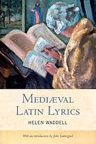 Mediæval Latin lyrics