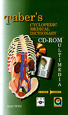 Taber's cyclopedic medical dictionary : CD-ROMultimedia