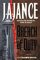 Breach of duty : a J.P. Beaumont mystery
