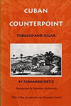Cuban counterpoint; tobacco and sugar