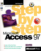 Microsoft Access 97 step by step