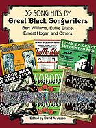 35 song hits by great Black songwriters