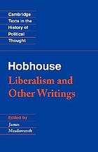 Liberalism and other writings