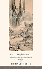 Frog in the well : portraits of Japan by Watanabe Kazan, 1793-1841