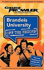Brandeis University : Waltham, Massachusetts