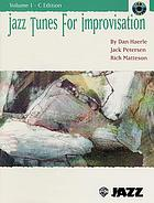 Jazz tunes for improvisation