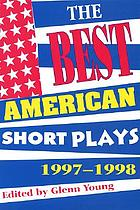 The Best American Short Plays, 1997-1998