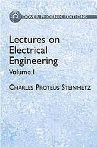 Lectures on electrical engineering