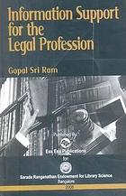 Information support for the legal profession