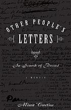 Other people's letters : a memoir