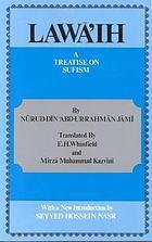 Lawā'ih, a treatise on Ṣūfism