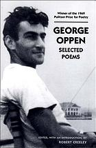 George Oppen : selected poems