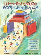 Intervening for literacy : the joy of reading to young children