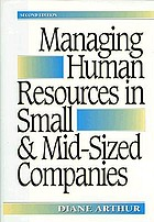Managing human resources in small and mid-sized companies