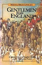 Gentlemen from England, a novel