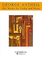 The works for violin and piano