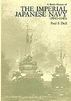 A battle history of the Imperial Japanese Navy, 1941-1945