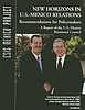 New horizons in U.S.-Mexico relations : recommendations for policymakers : report of the U.S.-Mexico Binational Council