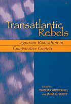 Transatlantic rebels : agrarian radicalism in comparative context