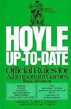 Hoyle up-to-date; [official rules for all important games]