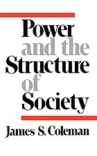 Power and the structure of society