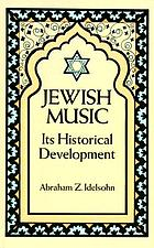 Jewish music in its historical development
