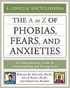 The A to Z of phobias, fears, and anxieties
