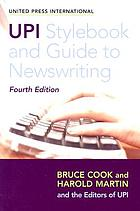 UPI style book & guide to newswriting