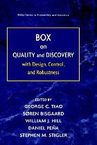 Box on quality and discovery : with design, control, and robustness
