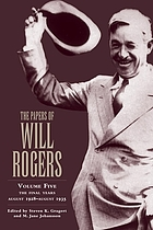 The papers of Will Rogers