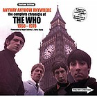 The Who : anyway, anyhow, anywhere : the definitive diary of The Who