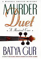 Murder duet : a musical case