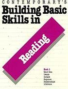 Building basic skills in reading